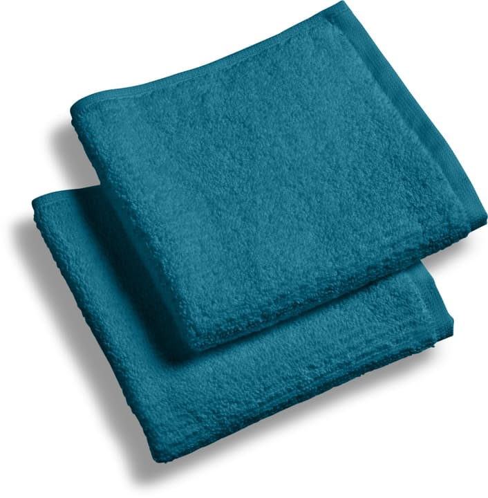 EVITA Lavettes à 2 piéces 450861120140 Couleur Bleu Dimensions L: 30.0 cm x H: 30.0 cm Photo no. 1