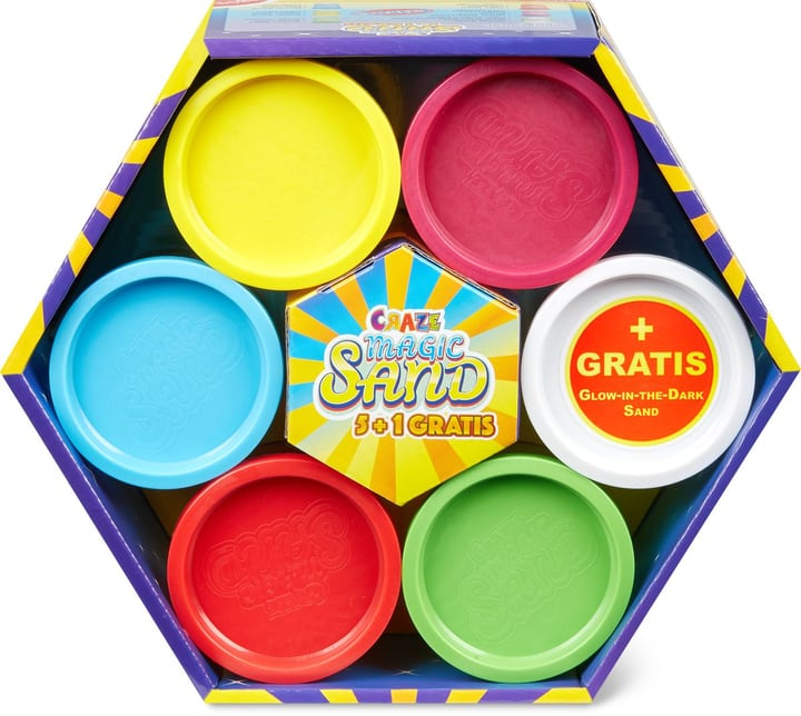 Craze Magic Sand 5 + 1 Pack 746125800000 Bild Nr. 1