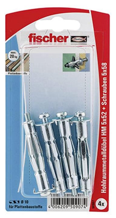 Tassello per piastra HM 6 x 52 con vite fischer 605423300000 N. figura 1