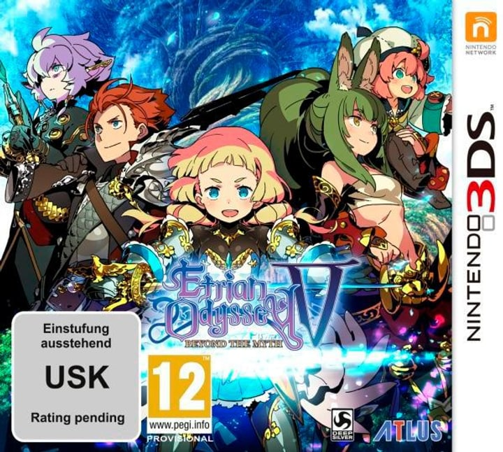 3DS - Etrian Odyssey V: Beyond the Myth D Physique (Box) 785300130007 Photo no. 1