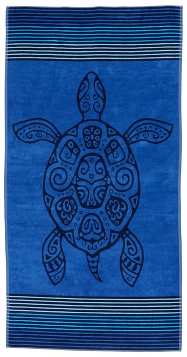TRIS Strandtuch 450848622540 Grösse B: 90.0 cm x H: 180.0 cm Farbe Blau Bild Nr. 1