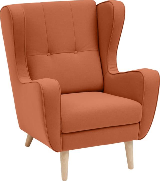 BRAHMS Sessel 402462807057 Grösse B: 80.0 cm x T: 90.0 cm x H: 97.5 cm Farbe Orange Bild Nr. 1