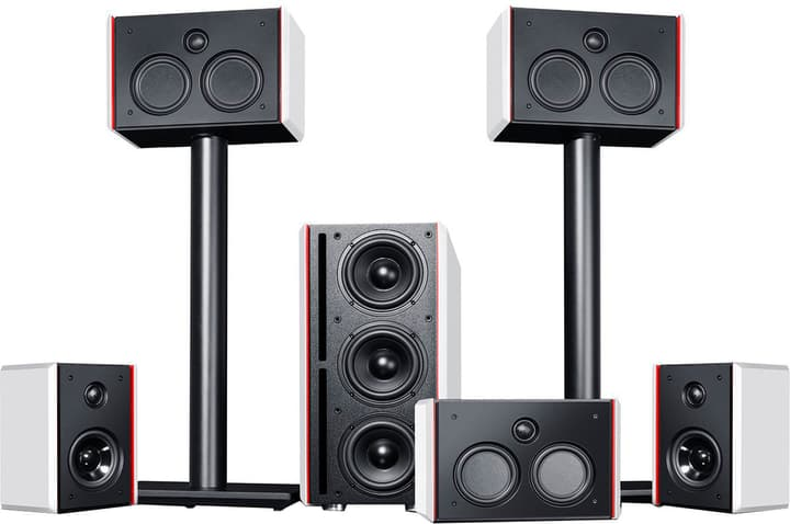 System 4 THX - 5.1 Set - W/B Altoparlante Home Cinema Teufel 785300137719 N. figura 1