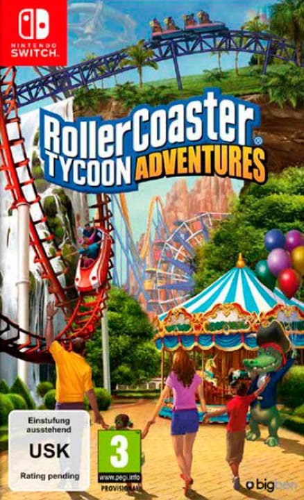 NSW - Rollercoaster Tycoon Adventures (D) Box 785300138864 Photo no. 1