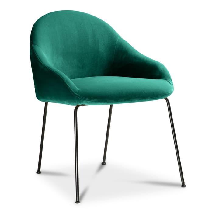 EARL Chaise 366028015001 Couleur Vert foncé Dimensions L: 58.0 cm x P: 65.0 cm x H: 76.0 cm Photo no. 1