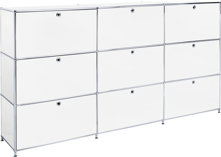 FLEXCUBE Buffet haut 401815030310 Dimensions L: 227.0 cm x P: 40.0 cm x H: 118.0 cm Couleur Blanc Photo no. 1