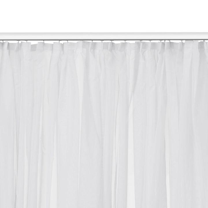 ARALIA Tenda pronta da appendere con scorrevoli cuciti 372004446221 Colore Bianco Dimensioni L: 200.0 cm x A: 240.0 cm N. figura 1