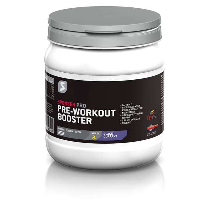 Pre Workout Booster Polvere per bevande Sponser 471979006593 Colore policromo Gusto Blackcurrant N. figura 1