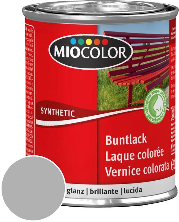 Synthetic Vernice colorata lucida Grigio Argento 375 ml Miocolor 661432900000 Contenuto 375.0 ml Colore Grigio Argento N. figura 1