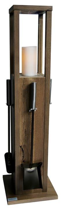 Valet de cheminée chêne  chêne fendu 639008600000 Photo no. 1