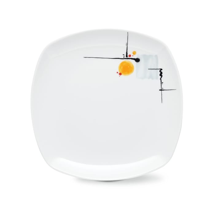 SUNRISE Piatto da dessert Cucina & Tavola 700155100004 Colore Multicolore Dimensioni A: 2.5 cm N. figura 1