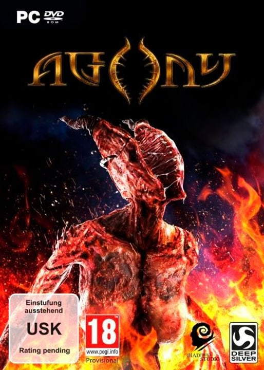 PC - Agony (D) Fisico (Box) 785300131986 N. figura 1