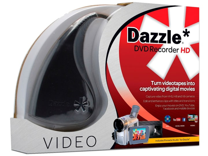 PC Pinnacle Dazzle DVD Recorder HD Physisch (Box) Corel 785300126699 Bild Nr. 1