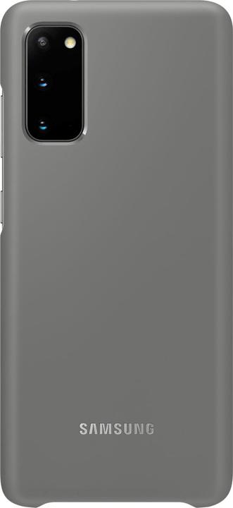 Hard-Cover mit LED-Anzeige Grau Hülle Samsung 785300151212 Bild Nr. 1