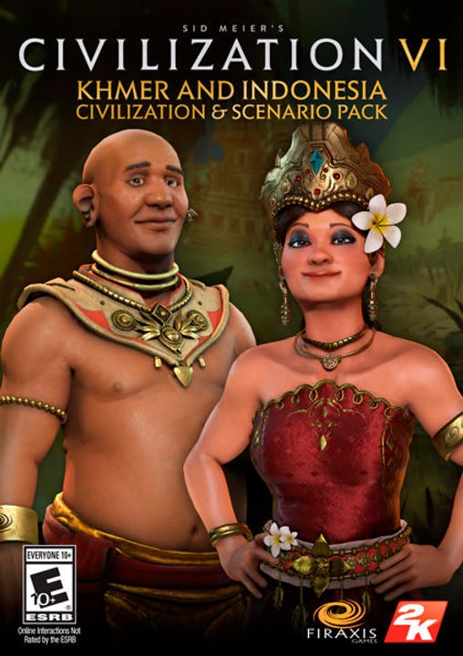 PC/Mac - Sid Meier's Civilization VI Khmer and Indonesia Civilization & Scenario Pack Download (ESD) 785300133879 Photo no. 1