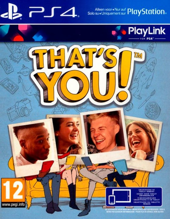 PS4 - That's you! 785300122828 Bild Nr. 1
