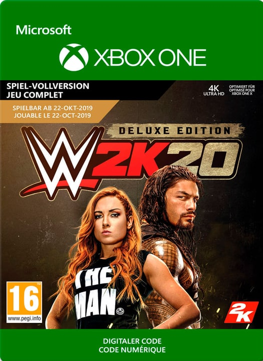 Xbox One - WWE 2K20 Deluxe Edition Download (ESD) 785300147637 Photo no. 1