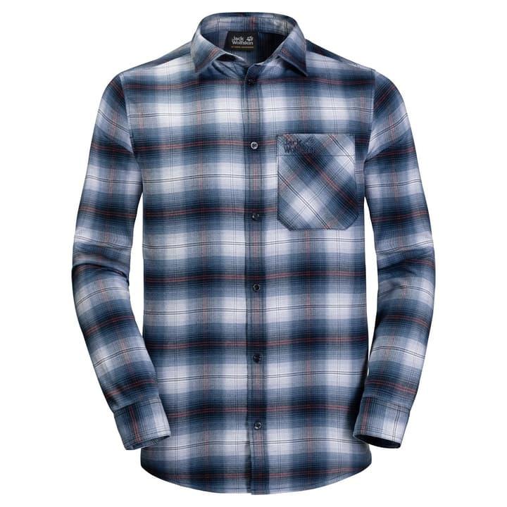 LIGHT VALLEY SHIRT Herren-Langarmhemd Jack Wolfskin 462788900422 Farbe dunkelblau Grösse M Bild-Nr. 1