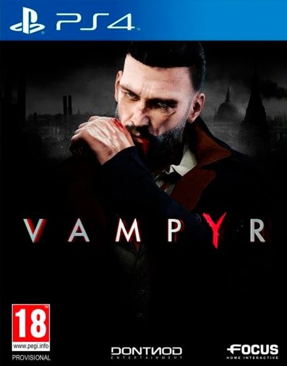 PS4 - Vampyr Fisico (Box) 785300129102 N. figura 1