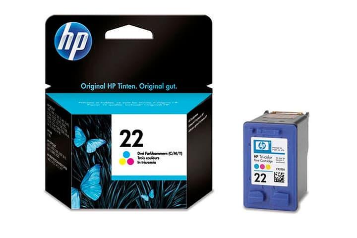 C9352AE Tintenpatrone Nr. 22 color Tintenpatrone HP 797456700000 Bild Nr. 1