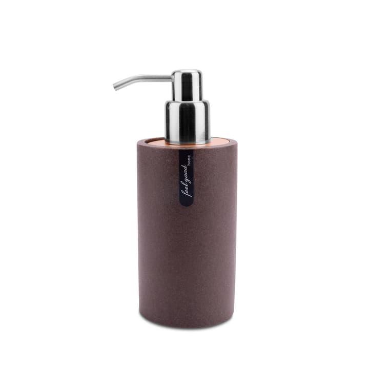 SABLE Distributeur de savon 374025200000 Couleur Brun foncé Dimensions L: 7.5 cm x P: 7.5 cm x H: 18.4 cm Photo no. 1