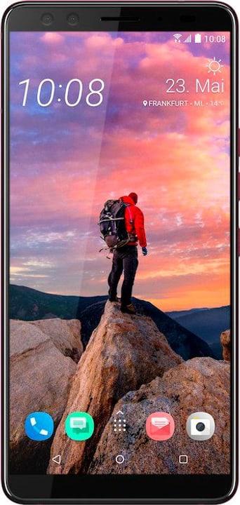 U12+ 64GB Flame Red Smartphone Htc 785300136053 Bild Nr. 1
