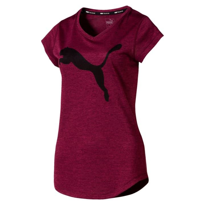 Heather Cat Tee Damen-T-Shirt Puma 494970700528 Farbe aubergine Grösse L Bild-Nr. 1