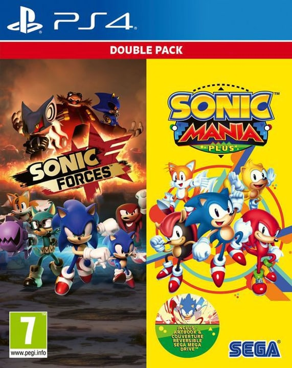 PS4 - Sonic Mania Plus and Sonic Forces Double Pack F Box 785300139878 Bild Nr. 1
