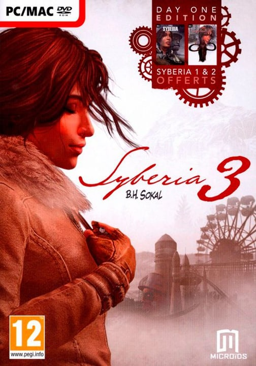PC/Mac - Syberia 3 Day One Edition (Sybéria D1+ Sybéria 2+ Syberia 3) Physique (Box) 785300122246 Photo no. 1