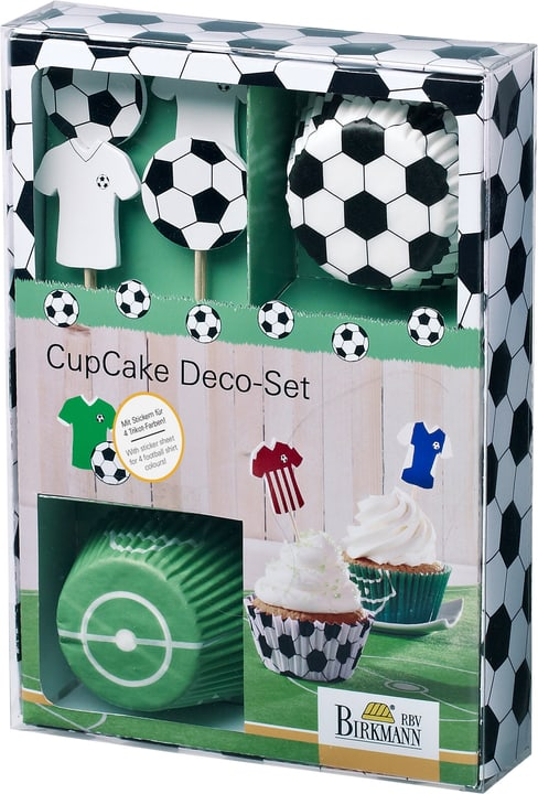 KICK IT Set di deco cupcake 441108800000 N. figura 1