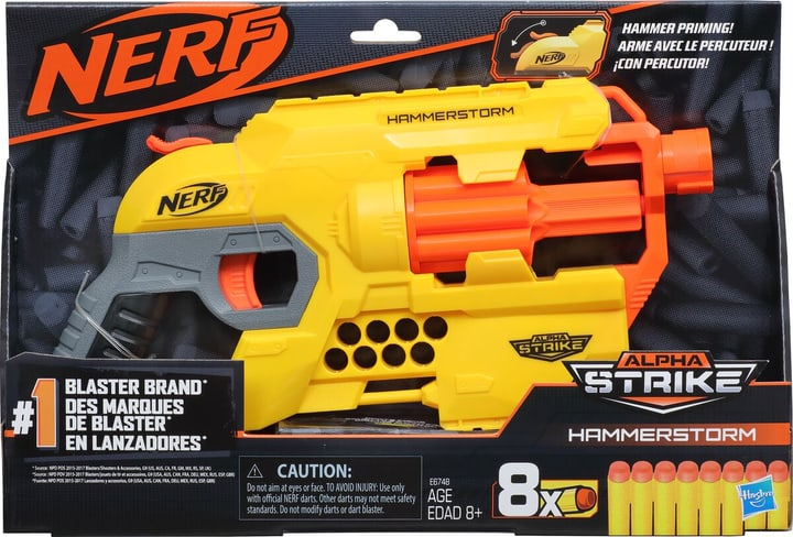 Nerf Alphastrike Hammerstorm 743358300000 Photo no. 1