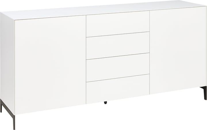 LUX Sideboard 400821900000 Grösse B: 180.0 cm x T: 46.0 cm x H: 84.5 cm Farbe Weiss Bild Nr. 1
