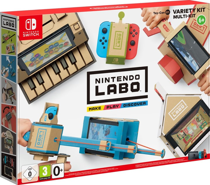 Switch - Nintendo Labo: Toy-Con 01 Multi-Set (D/F/I) Box 785300132408 Bild Nr. 1