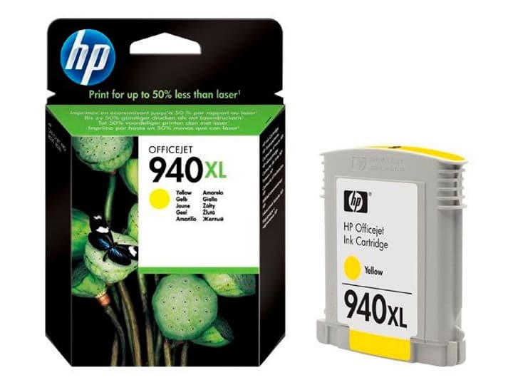C4909AE nr. 940XL, jaune Cartouche d'encre HP 797513100000 Photo no. 1