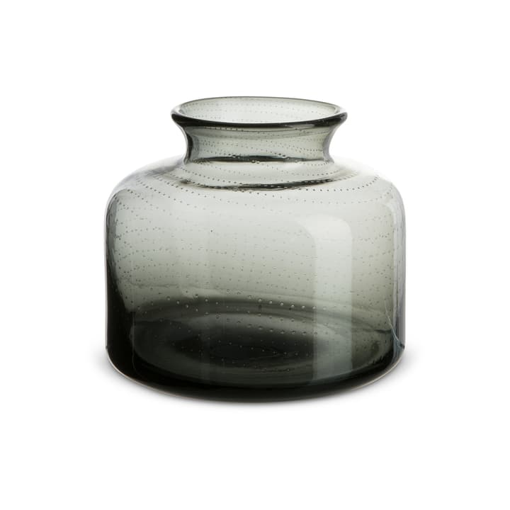 LUCA vase 396114900000 Dimensions L: 13.5 cm x P: 13.5 cm x H: 12.5 cm Couleur Gris Photo no. 1