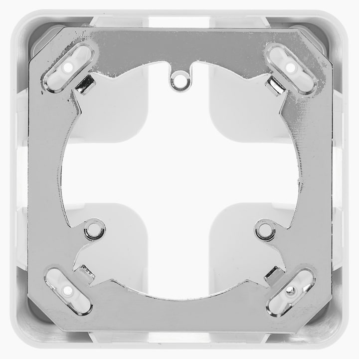 AP Gehäuse mit Montageplatte Quadro apparente con piastra di montaggio Mica for you 612245300000 Bild Nr. 1