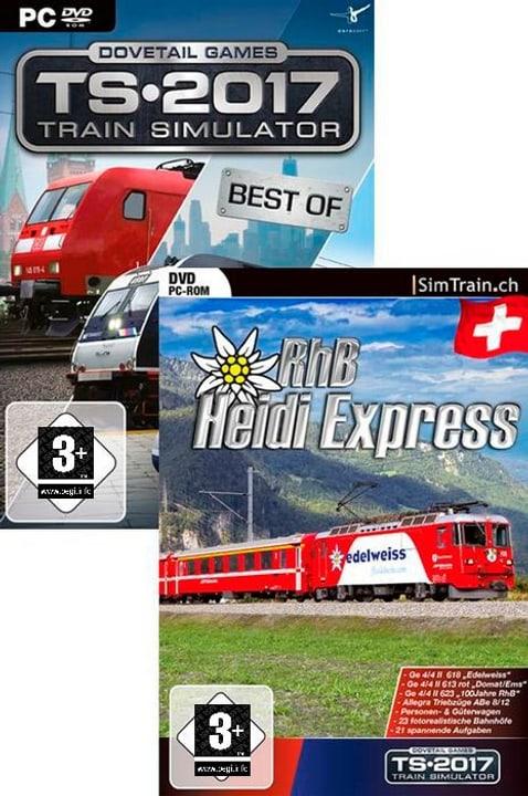 PC - Train Simulator 2017 Best of & Heidi Express Bundle (D) Physisch (Box) 785300131825 Bild Nr. 1