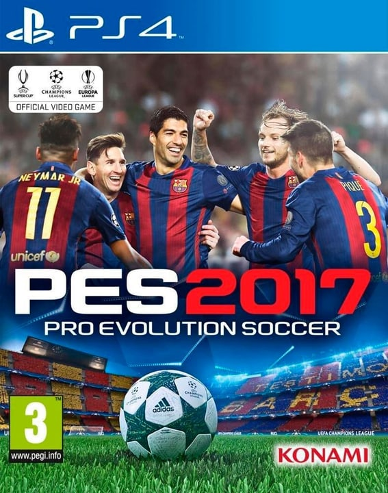 PS4 - PES 2017 Pro Evolution Soccer 2017 785300121314 Photo no. 1