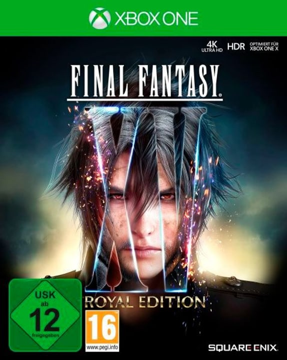Xbox One - Final Fantasy XV Royal Edition (D) Box 785300132445 N. figura 1
