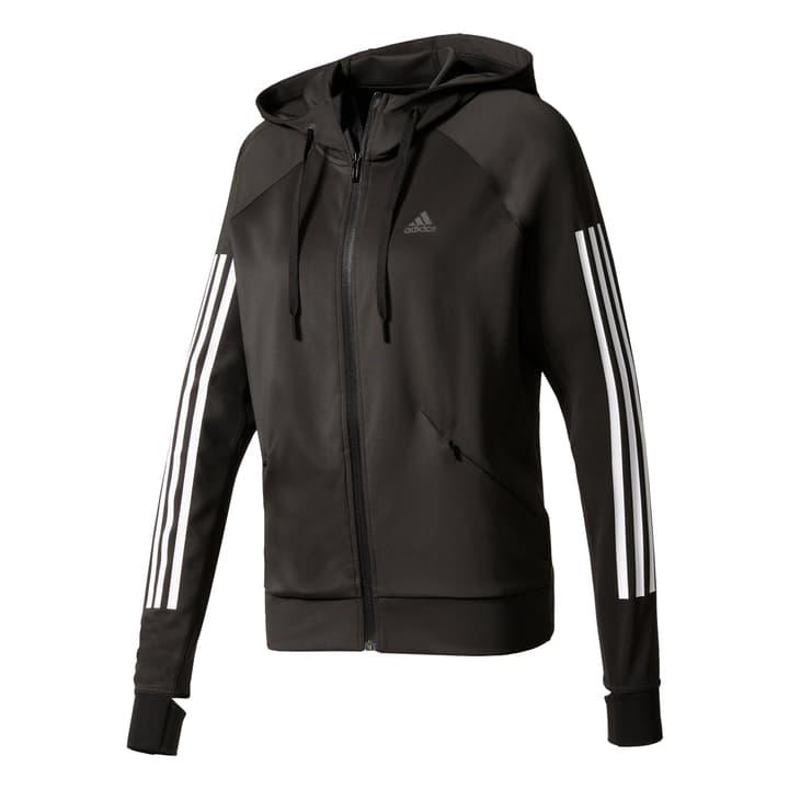 BK7675 Veste à capuche pour femme Adidas 464909300320 Couleur noir Taille S Photo no. 1