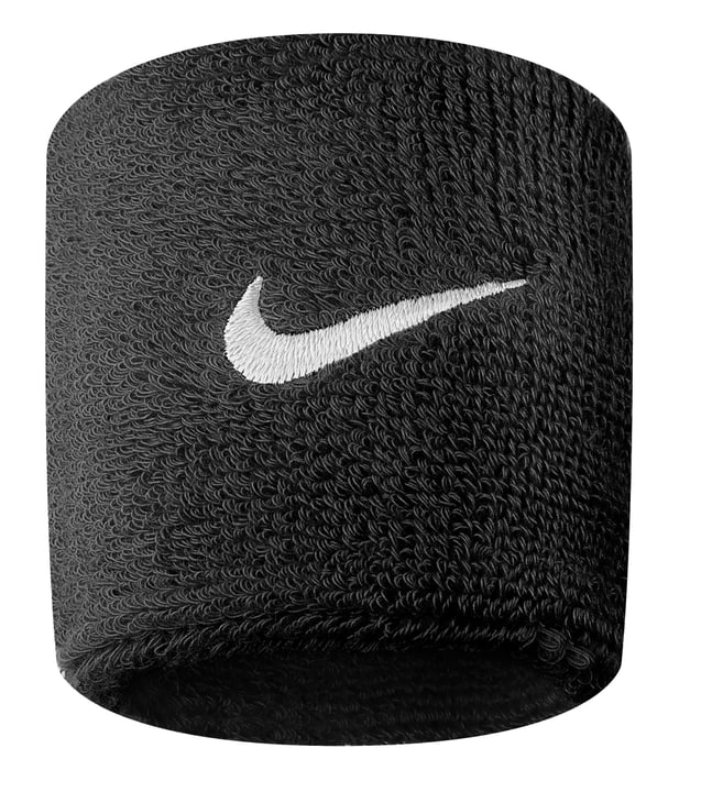 Serre-poignets mince (7.6cm)\, unisexe Nike 473202299920 Couleur noir Taille one size Photo no. 1