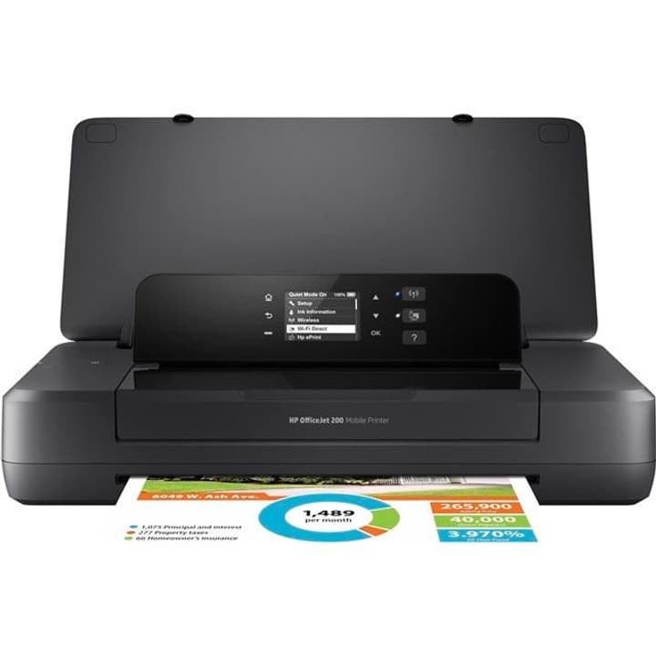 OfficeJet 200 Mobile Printer HP 785300125273