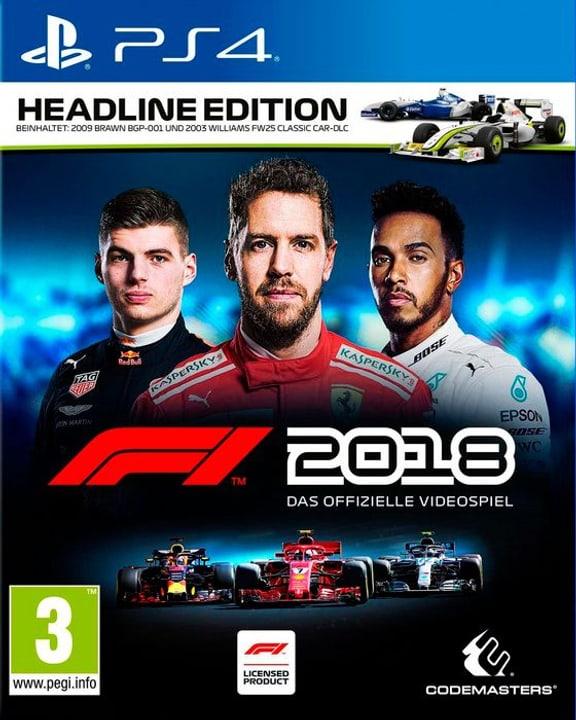 PS4 - F1 2018 Headline Edition (D) Box 785300136066 Bild Nr. 1