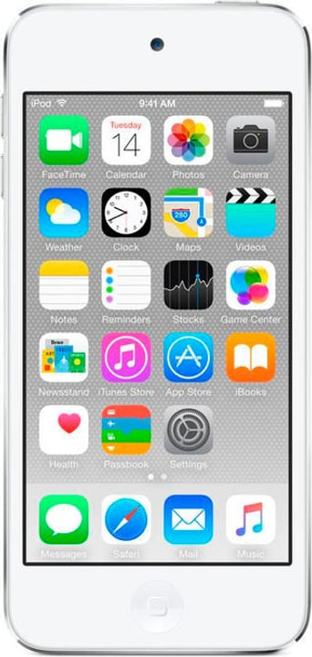 iPod touch 128GB - Silber Mediaplayer Apple 785300129597 Bild Nr. 1