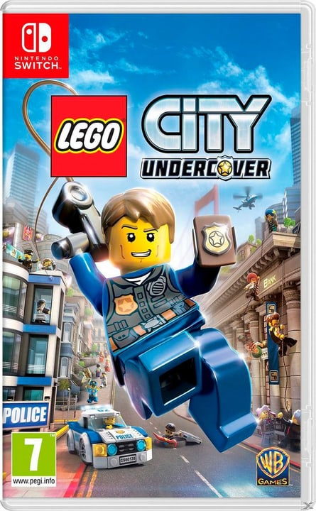 Switch - LEGO City Undercover Box 785300121639 N. figura 1