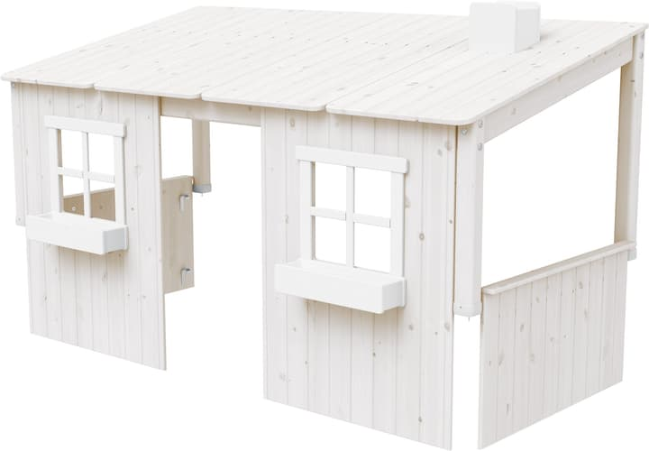 TREE HOUSE Construction maison dans les arbres Flexa 404986900000 Couleur Blanc Dimensions L: 112.0 cm x P: 210.0 cm x H: 129.0 cm Photo no. 1