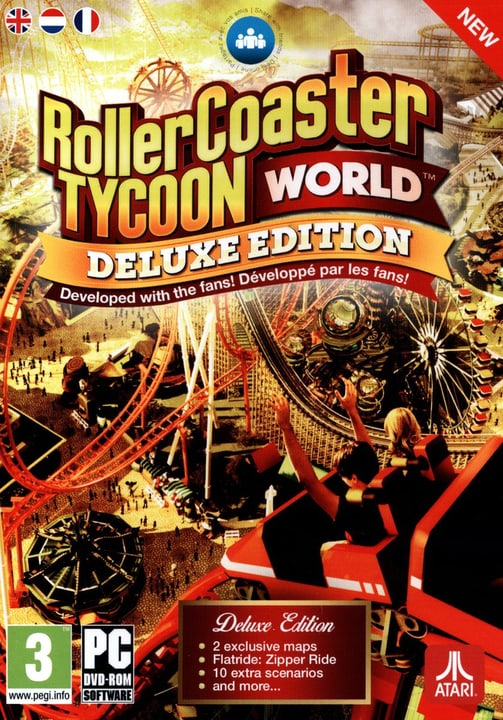 PC - Roller Coaster World - Deluxe EditioN Box 785300121826 Bild Nr. 1
