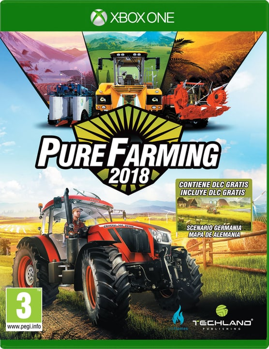 Xbox One - Pure Farming 2018 Day One Edition (I) Fisico (Box) 785300131686 N. figura 1