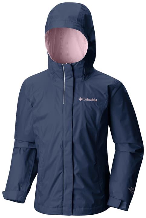 Arcadia Veste de pluie pour fille Columbia 464535114022 Couleur bleu foncé Taille 140 Photo no. 1