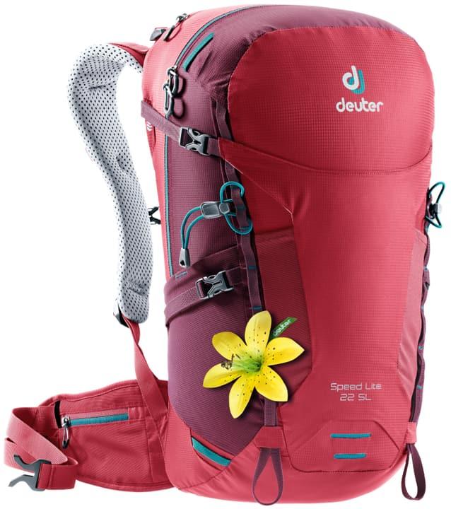 Speed Lite 22 SL Zaino da alpinismo per donna Deuter 460259000030 Colore rosso Taglie Misura unitaria N. figura 1